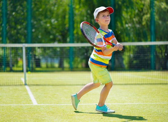 Junior – Tennis Australia ANZ  Hotshots Blue Level   3-5 yrs old and Red Level 5-8 yrs old